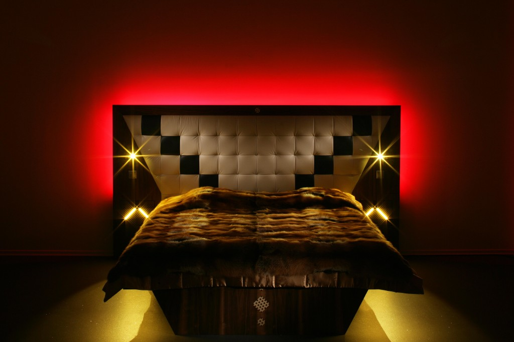 Led Lighting Bed Homan Design